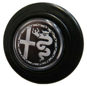 Horn Button For Momo Nardi Steering Alfa Romeo Milano Black Alpha Sud
