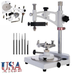 Dental Lab Parallel Surveyor Equipment With Tools Handpiece Holder Usa Sale