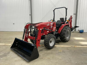 2019 Tym T394h 37hp Hydrostatic Tractor W loader And Backhoe