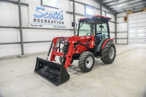2019 Tym T394hc 37hp Hydrostatic Tractor W loader cab 6 Year Warranty