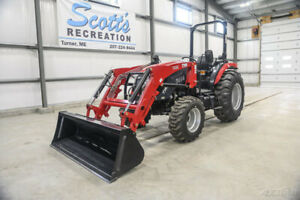 2019 Tym T454 46hp Tractor W Front Loader 6 Year Warranty