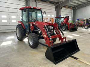 2016 Tym Tractors T454 Hydrostatic Tractor W Factory Cab And Loader New