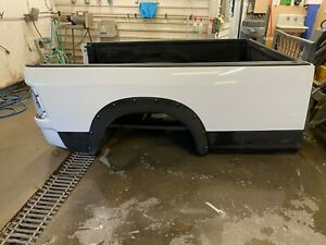 Dodge Ram 8 Long Bed Truck Bed Heavy Duty 1500 2500 3500 Used Bright White