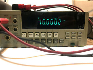 Fluke 8840a Dmm 5 5 Digit Multimeter Tested Accurate W options Ac 09