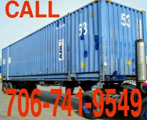 53ft Steel Weather Proof Shipping self Storage Containers Delivery Available