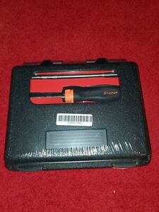 New Snap On Soft Grip Ratcheting Screwdriver Set Sgdmrc108ao orange