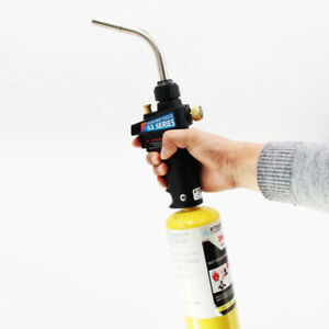 Gas Welding Torch Handheld Plumbing Hand Self ignition Burner Lighter For Mapp