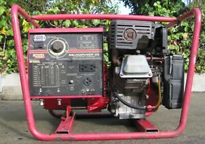 Lincoln Weldanpower 125 Gas Powered Dc Arc Welder Generator 9 Hp Briggs