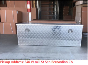 Pickup Only 60 W Aluminum Trailer Tongue Tool Box Underbed Pickup Storage