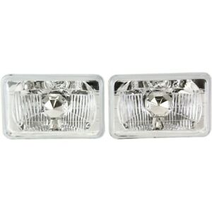 Headlight Lamp Left And Right For Chevy Express Van Suburban Blazer S 10 Pickup