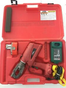Burndy Patriot Pat600 18v Crimper With Battery And Charger makita
