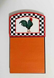 Sublimated Rooster Sticky Note Holder Gift