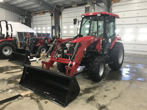 2019 Tym T554c 55hp Shuttleshift Tractor W Cab Loader