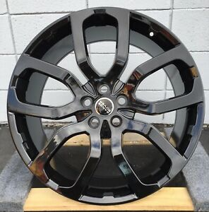 22 Wheels Fit Range Rover Hse Sport Supercharged With Tires Rims Lr3 Lr4 Black