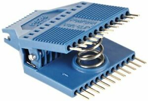 Pomona 5254 Soic Test Clip 24 Pin 0 050 Lead Spacing 1 230 Width pack