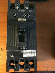 Circuit Breakers General Electric 225 Amp 3 Pole