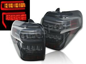 Set Of Pair Eagle Eyes Black Smoke Led Taillights For 2014 2020 Toyota 4runner