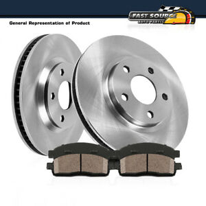 For 4wd Ford Explorer Ranger Mountaineer Front Brake Rotors And Ceramic Pads