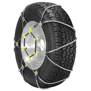Security Chain Super Z Lt Light Truck Suv Snow Tire Radial Chain 2 Pack used