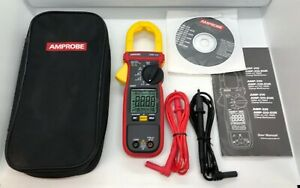 Amprobe Amp 220 600a Ac dc Clamp Meter Electrical Multimeter Test Unit New