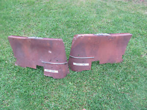 1950 Cadillac Convertible Back Seat Arm Rest Panels
