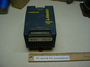 Power One Lwr1801 6 Power Supply 48vdc 2 5 Amps