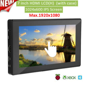 7inch Lcd Hdmi 1024 600 Display Ips Touch Screen With Pc Case For Raspberry Pi