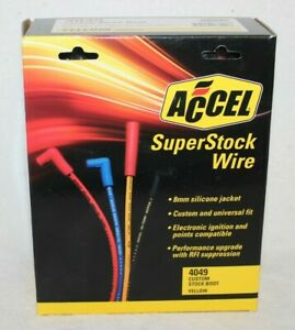 Accel 4049 Custom Fit Super Stock Spark Plug Wire Set