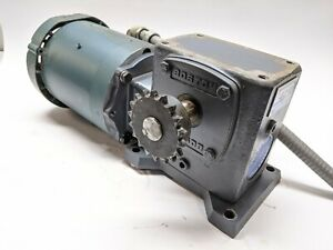 Boston Gear F721b 30k b5 h1 Speed Reducer Leeson 114213 00 Motor Hytrol Conveyor