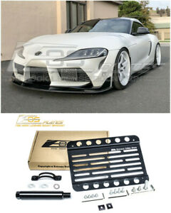 Eos For 20 Up Toyota Supra Gr Front Bumper Tow Hook License Plate Bracket