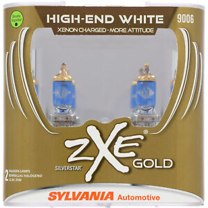 Sylvania 9006 Silverstar Zxe Gold High Performance Halogen Headlight 2 Bulbs