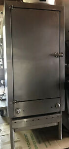 Commercial Smoker gas And Wood Bbq Commercial Oven