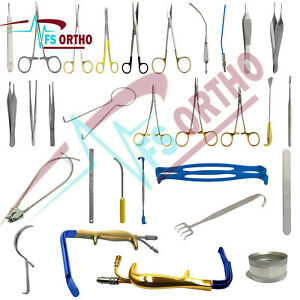 Breast Augmentation Surgery Recovery Instruments 45 Pieces Set Plastic Surgery