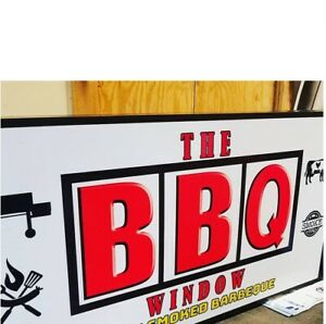 Box Sign Custom Signs Backlit Retail Outdoor Business 24x96x3 75
