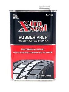 4 Pack 12 A Piece 14 100 Xtra Seal Rubber Prep Buffing Solution Pre Buff
