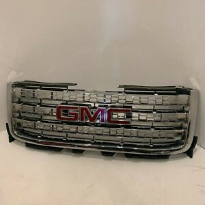 2007 2010 2011 2012 2013 Gmc Sierra Denali Front Grille Assembly 22791989 Rare