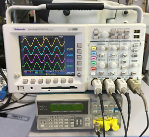 Tektronix Tds3054 4 Ch Dpo Oscilloscope 500mhz 5gsa s 271 Hours Options