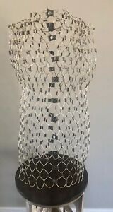 Vintage Wire Dress Form mid Century Steel my Double By Dritz Orig Mannequin