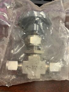Whitey Monel M 1vs6 Needle Valve 3 8 brand New In Factory Bag