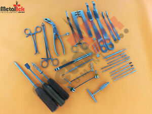 Small Fragment Instruments Orthopedic Surgical Instruments 30 Pcs Set