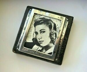 Charles Penny Brown Antique Sterling Silver Combination Photo Frame Paperweight