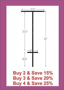 T bar Stake For Real Estate Signs Free Shipping