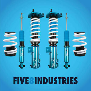 For 16 19 Kia Optima Five8 Industries Full Coilovers Height Adjustable Kit
