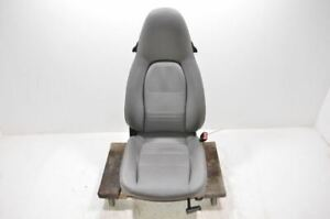 2002 2004 Porsche Boxster Right Front Passenger Bucket Seat Gray Leather 501473