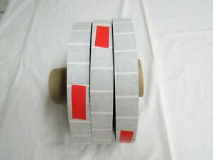 3 Rolls 15 000 Wafer Seals Tabs 1 Table Top Tabber Mailer Mailing Machine