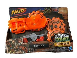 Nerf Zombie Strike Survival System Twinslice BLASTER Tactical Rail Attachment $24.99