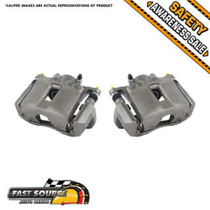 For Acura Cl Tl Tsx Honda Accord Sedan Coupe Front Oe Brake Calipers Pair