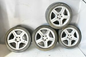Mercedes W221 S550 Cl550 8 5 9 5 X 19 19 Amg Wheel Rim Rims Set Of 4 Tires Oem