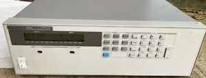 Hp Agilent 6653a 35v 15a 500w Programmable System Dc Power Supply 0 35v 0 15a