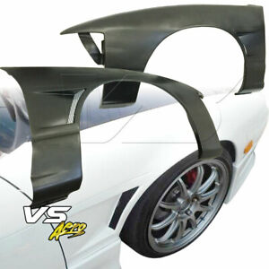 Vsaero Frp Mspo Wide Body 20mm Fenders front 2 3dr For Nissan 240sx 89 94